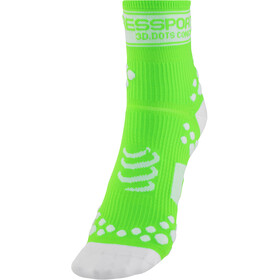 Compressport Racing V2 Socks fluo green